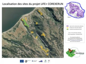 Localisation_sites_LIFE+COREXERUN_vignette