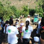 Les habitants de la Grande Chaloupe étaient au coeur de l'événement puisqu'ils ont eux-même animé les visites guidées du quartier