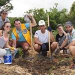 Fiers de leur action en faveur de la forêt semi-sèche